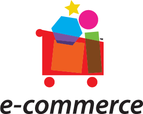 Ecommerce logo with transparent background.