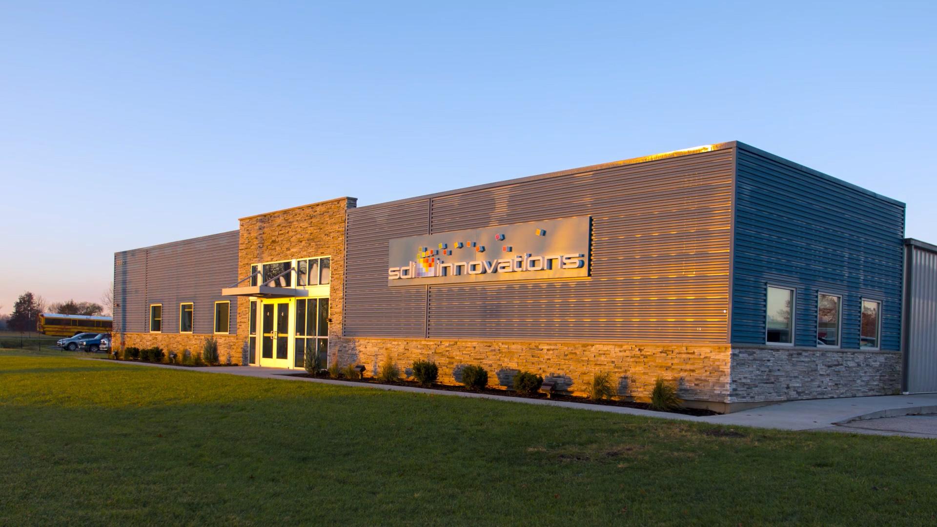 Exterior view of SDI Innovations building.